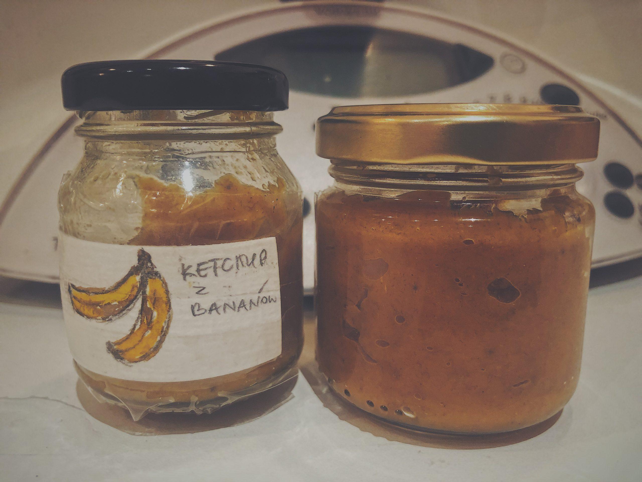 Przepis zero waste na ketchup z dojrzałych bananów