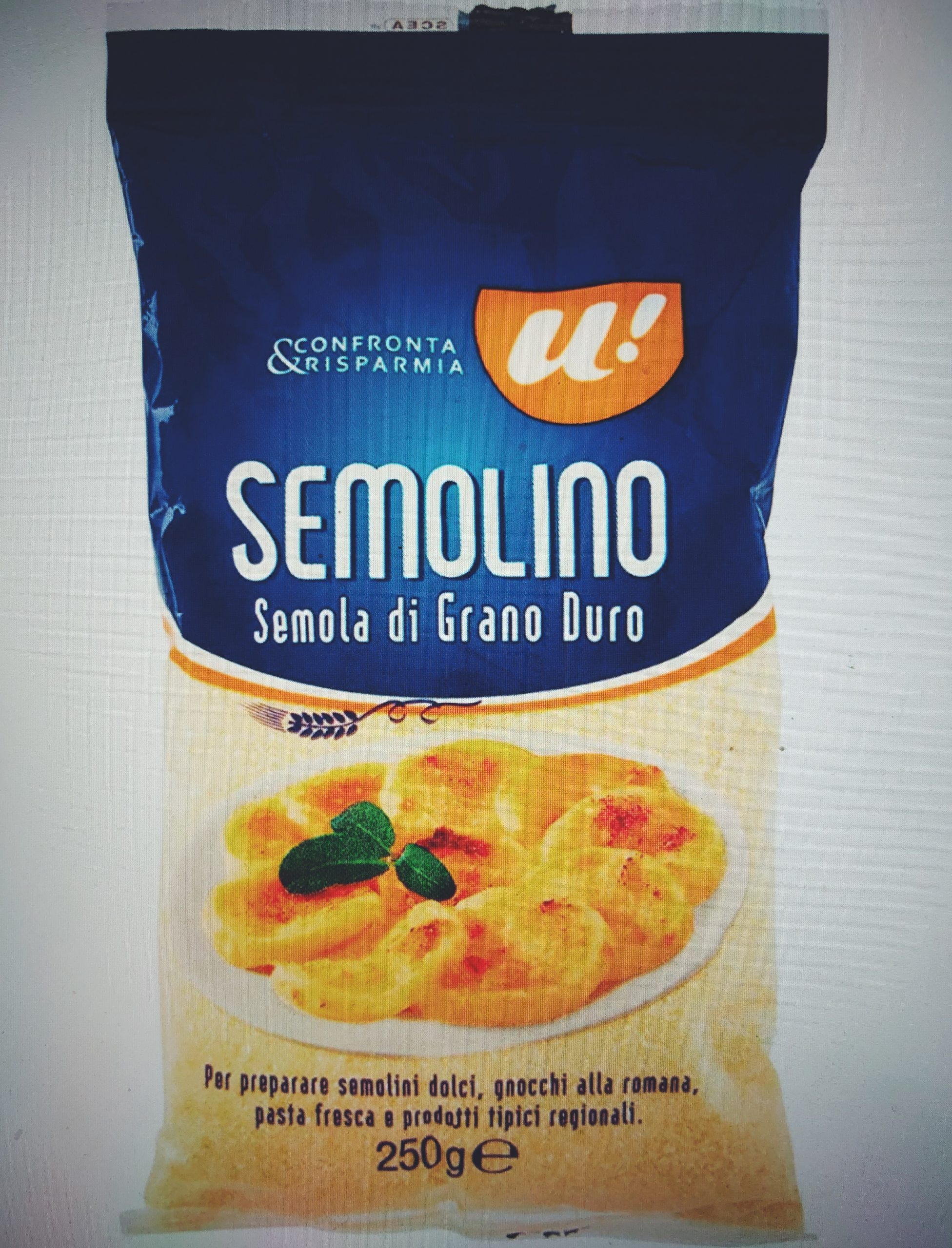 Semolina czyli kaszka z mąki pszennej twardej