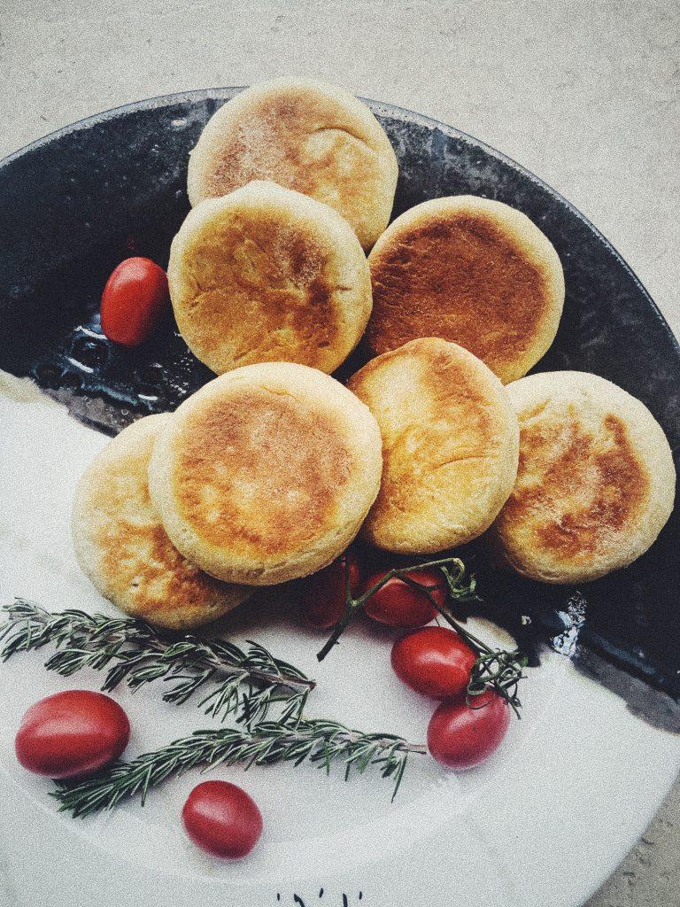 English muffins przepis Thermomix