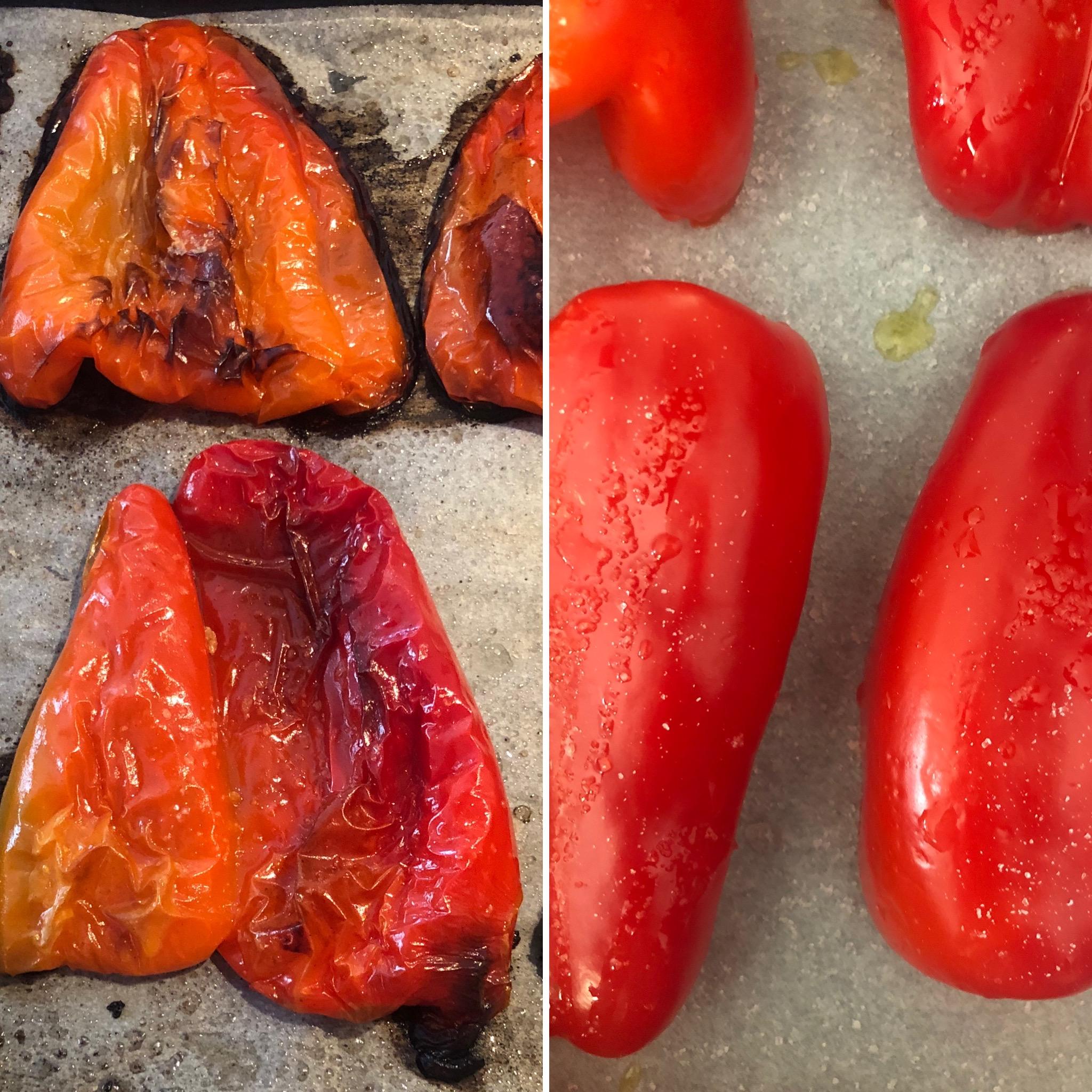 Pieczona papryka, czyli jak obrać paprykę ze skórki
