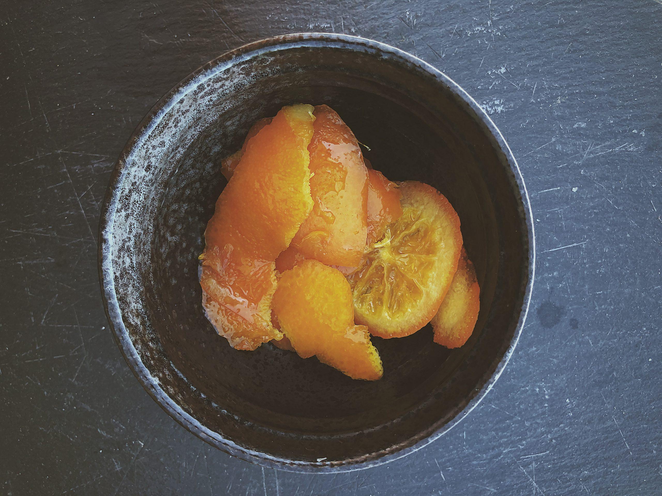 Zero waste pomarańcze