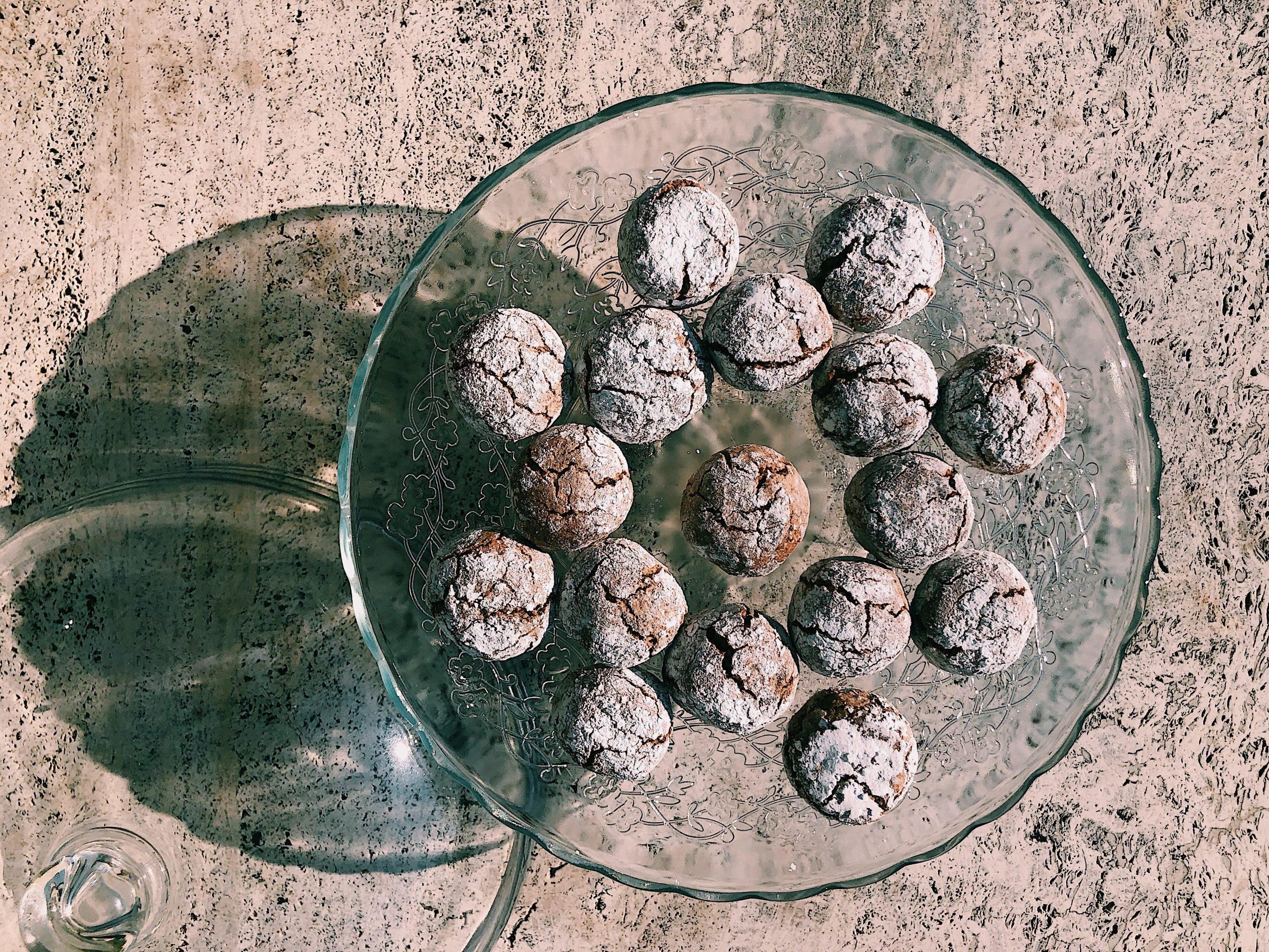 Amaretti ciasteczka migdałowe - jak zrobić