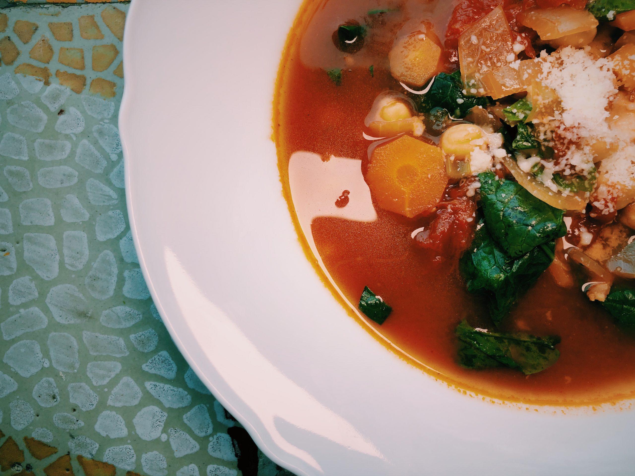 Ciecierzyca przepisy - zupa z ciecierzycy