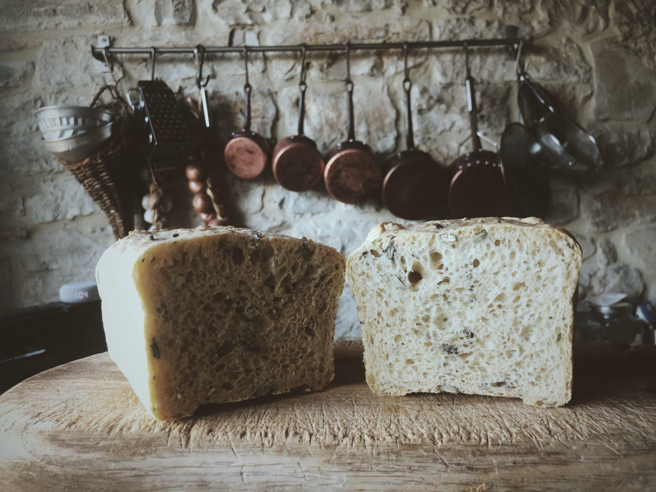 Szybki chleb z mąki orkiszowej