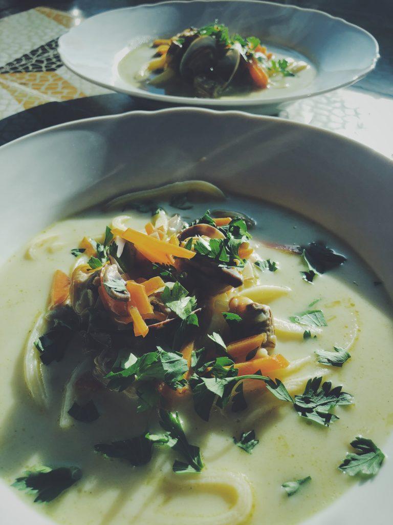 Zupa z clams