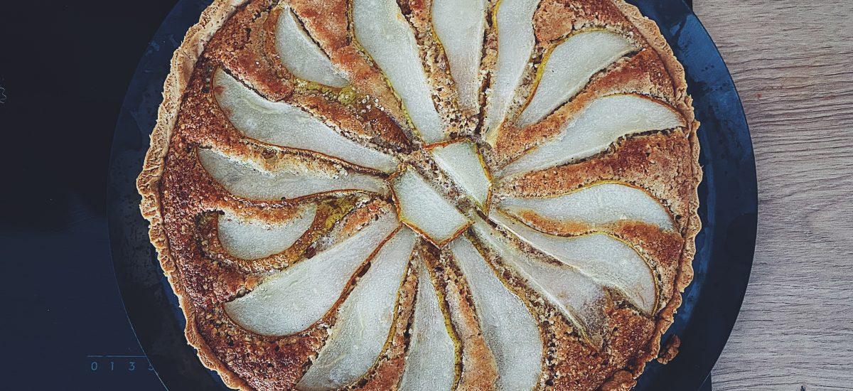 TARTA Z GRUSZKAMI – Thermomix, Monsieur Cuisine